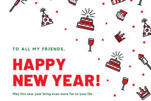 新年快樂! HAPPY 2021